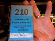 210- rare cassette single- Whitebread/Return of the Sun- new/sealed tape