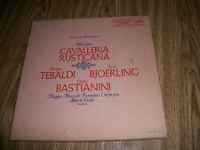 MASCAGNI- MASCAGNI CAVALLERIA RUSTICANA-2LP'S W/BOOKLET