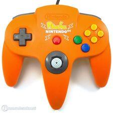 Original Nintendo N64 Controller / Gamepad #Orange Pikachu - Zustand auswählbar