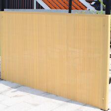 Laneetal PVC Garden Privacy Screen Grey Garden Fence Privacy Shield Protective Screen for Garden Balcony Terrace 100 x 500 cm