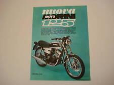 advertising Pubblicità 1976 MOTO MORINI 125