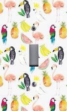 Light Switch Plate Outlet Covers~Tropical Decor ~ Parrot Toucan Fruit Mixture