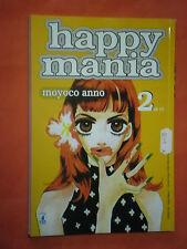 HAPPY MANIA- N° 2- di 11- DI-MOYOCO ANNO-MANGA-STAR COMICS- NUOVO