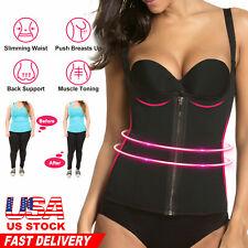 Full Body Shaper Sauna Sweat Suit Hot Slimming Waist Trainer Workout M L XL 2XL