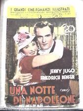 UNA NOTTE DI NAPOLEONE film Jenny Jugo Friedrich Benfer