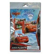 Disney Cars Lightning Mcqueen Water Swim Wings Arm Bands Arm Floats Pool Floatie