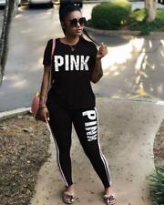 2Pcs Women Ladies Tracksuit sportswear Pants Sets Casual Suit Hot Sport Wear