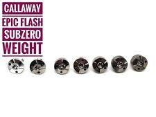 Golf weight for Callaway EPIC Flash Sub Zero Driver 2g 4g 6g 8g 10g 12g 14g
