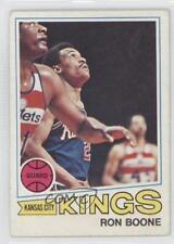 1977-78 Topps White Back #119 Ron Boone Kansas City Kings Basketball Card