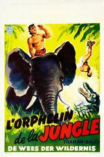 Tarzan in Istanbul 1960s Belgian Movie Poster
