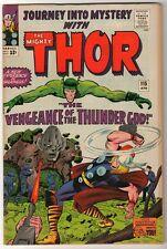 Marvel Comics VFN THOR #115 LOKI AVENGERS  Journey into mystery HIGH GRADE KIRBY