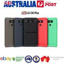 LG G6 Plus & LG G6 Case Carbon Fibre Design Soft TPU Back Phone Case SA SELLER