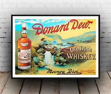 DONARD Rocío Whiskey: Vintage Publicidad Cartel reproducción