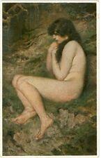 Erotico, nude dama, artisti-AK per 1920