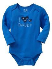 NEW NWT GAP babyGap Long Sleeve T-Shirt  I Heart Love Daddy So Cute *B1