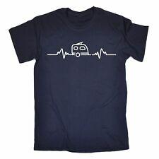 Caravan Heart Beat PULSE T-Shirt-VACANZA CAMPER CAMPER VAN CAMPING DI NATALE