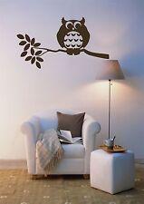 Owl Bird Wall Art Home Decor Mural Vinyl Decal