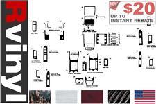 Rdash Dash Kit for Ford Escape 2008-2012 & More Auto Interior Decal Trim