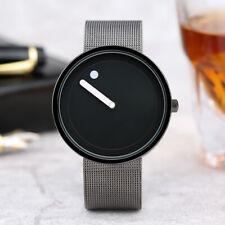 PAIDU Cool Men Creative Simple Wrist Watch Quartz Mesh band Fashion Women Gift