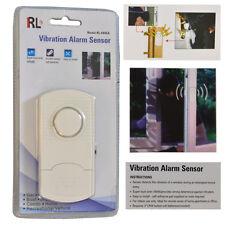 Puertas la & ventana alarma vibratoria alarma robo-alarma de seguridad alarma 90 DB en voz alta