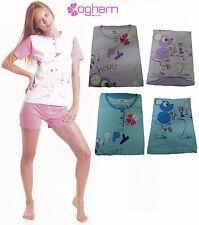 Pijama de mujer OGHAM. Media manga pantalones corto. algodón. 3 botones 24910