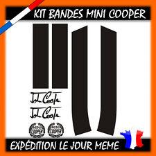 KIT BANDES MINI COOPER, COOPER S, ONE CAPOT + COFFRE