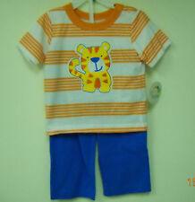 GumBalls Infant Boy 2 Piece 6/9 Month Short Sleeve T-Shirt & Long Pants  NWT