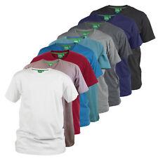 "Peso Premium D555 para hombre de algodón peinado ""V"" Cuello T-shirts (Signature)"