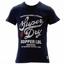 Superdry Men's Copper Label Magna Deep Indigo Short Sleeve T-Shirt