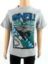 original O'Neill T-Shirt Shirt Kurzarmshirt Ship-Trap grau Print Tiere