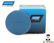 150mm Sanding Discs NORTON Zirconia 6 inch Floor Sandpaper Pads Self-sharpening