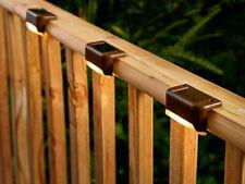 Solar Powered LED Path Stair Light Outdoor Garden Fence Landscape Lamp Light