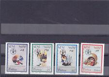 stamps ERITREA 1995 SC 256-259 F A O 50TH ANNIV MNH SET ER#6 */*