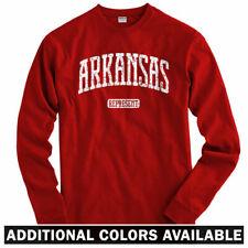 Arkansas Represent Long Sleeve T-shirt LS - Red Wolves Razorbacks - Men / Youth
