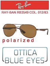 Occhiali da Sole RAYBAN RB3549 012/83 POLARIZED Classic PILOT Sunglasses Ray Ban