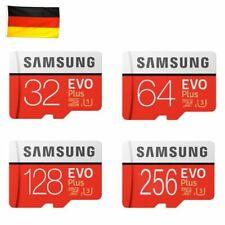 SAMSUNG evo+ micro SD Speicherkarte mit 32, 64, 128, 256 oder 512 GB -neu-