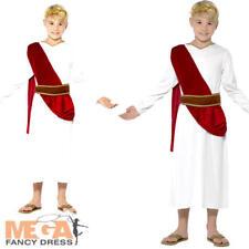 Roman Boys Fancy Dress Ancient Historical Grecian Greek Childs Kids Costume New