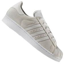 low priced 250a7 2b34c Adidas Originals Clean Superstar Zapatillas de Deporte Piel de ante Cuero