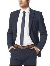 Bruno Banani Sakko Gr.48-58 NEU Herren Business Jacke Blau-Marine Schurwolle L32