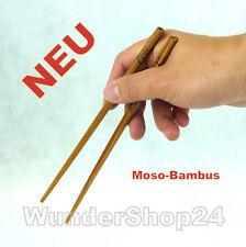 Chinesische Essstäbchen Stäbchen Chopsticks aus stabiles Moso-Bambus NEU
