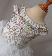 White Baby Girls Layered Tutu Dress Kids Toddler Mini Cupcake Dress Pageant Gown