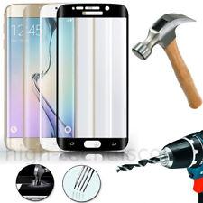 Film protection verre trempé incurvé intégral Samsung G925F Galaxy S6 Edge Plus