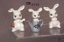 "New #1116 Ceramic  Emporium Mold ""Bunny Family""  - Last One"