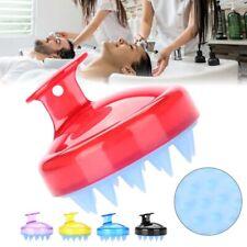 Soft Silicone Shampoo Scalp Shower Body Washing Hair Massager Bath Brush Comb