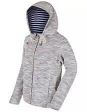 New Women's Regatta Orlenda Zip Hoody Jacket Light Vanilla Size UK 10 UK 12