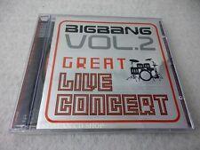 Big Bang 2nd Live Concert Album - The Great CD $2.99 S&H K-POP BIGBANG