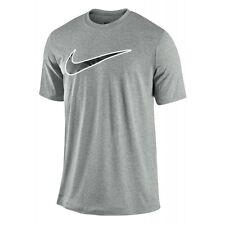 Nike Camiseta Leyenda Swoosh Camiseta Gris Camiseta Para Hombre Dri-Fit ul Grande 479999-063