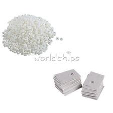 TO-220 Plastic Washer Insulation Transistor/Pads Silicone Heatsink Circle