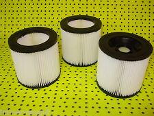 1, 2 oder 3 Patronenfilter geeignet für Kärcher  MV 2, MV 3,WD 3... Serie