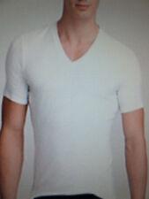 CALVIN KLEIN New AUTHENTIC WHITE  V-NECK T SHIRT Sleeves XS,S,M,L,XL,XXL,2XL